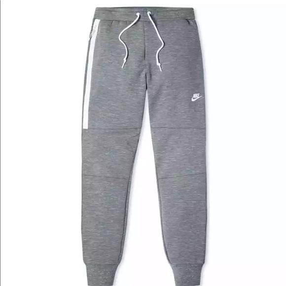 Nike Pants Nike Tech Fleece Joggers Carbon Heather Grey Mens Poshmark